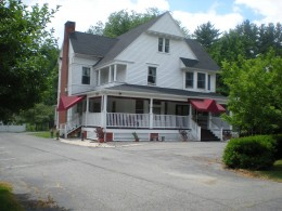 Front of the Birches Roy Funeral Home