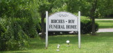 Birches Roy Funeral Services and Home